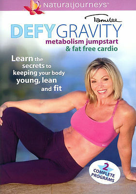 TAMILEE ~ DEFY GRAVITY ~ METABOLISM JUMPSTART & FAT FREE CARDIO ~ DVD new