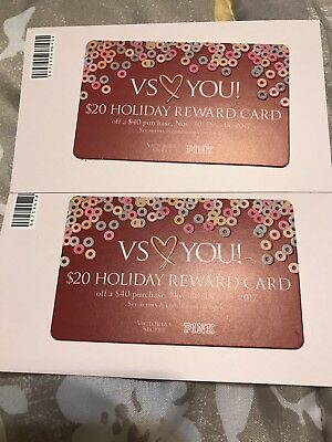 Victorias Secret $20 Holiday Reward Card (Lot 2)