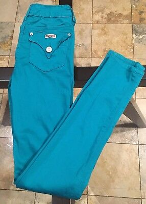 Girls Green Hudson Skinny Jeans Size 14 GUC
