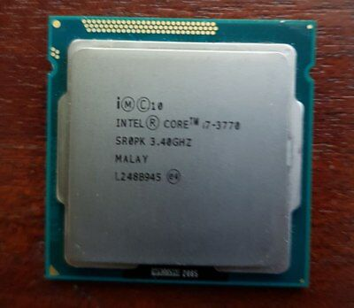 INTEL CORE i7-3770 3.4 Ghz CPU LGA1155