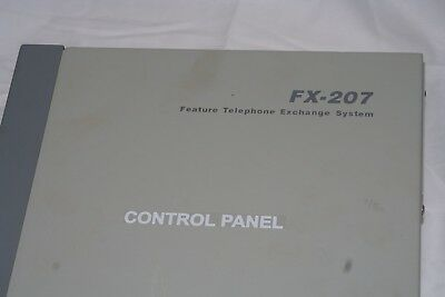 FX-207 Feature Telephone Exchange System - Control Panel - KCE Technology Corp