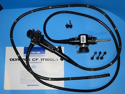 Olympus CF-1T 100L Flexible Colonovideoscope Colonoscope Accessories Manual Case