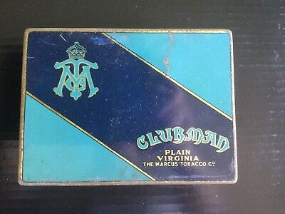 Clubman Tobacco Tin