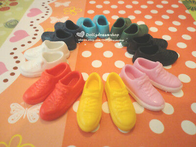 Doll Shoes - 8PAIRS Takara Licca Sport Shoes NEW FREE SHIP(Jenny/Momoko/Ob27cm)