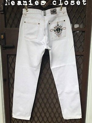 Vintage 80S Womens Jag Jeans Rare Style Big Embroided Logo On Pocket High Waist