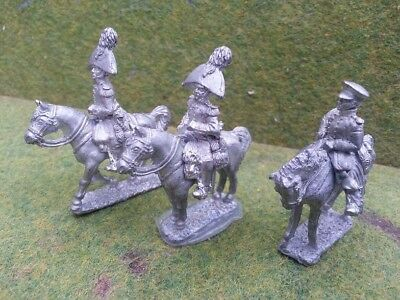 Napoleonic Russian Command stand painted 28mm Front Rank  Ready to Battle