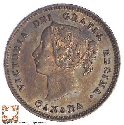 1900 Canada 5 Cents *XB91