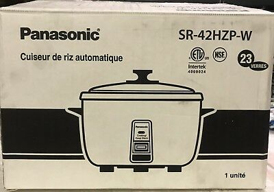 Panasonic SR-42HZP 23-cup (Uncooked) Commercial Rice Cooker.....................