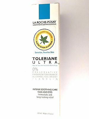LA ROCHE POSAY-TOLERIANE ULTRA INTENSE SOOTHING CARE FACE & EYES 40ml (2486)