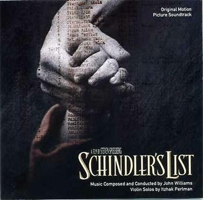 SCHINDLER'S LIST Soundtrack CD  - Music by John Williams