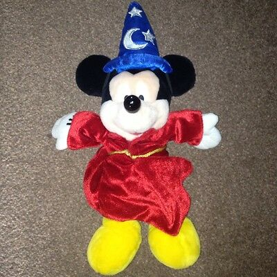 Rare Version 3 Pal Mickey Sorcerer Interactive Plush - Disney - Collectable