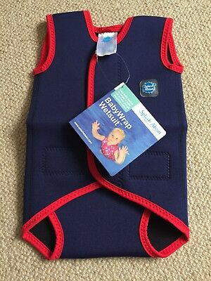 Small 0-6 Months Splash About Babywrap Wetsuit Brand New