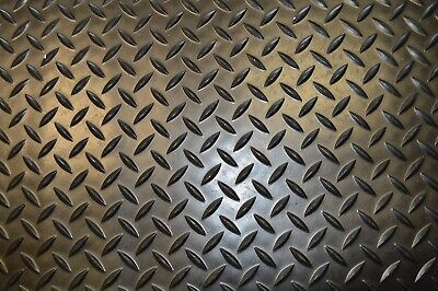 Black 1 Bar Checker Rubber Matting Flooring 3mm Thick Cheap 1.2m & 1.5m Wide