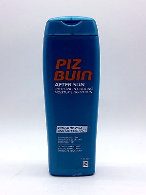 (4,90€/100ml) Piz Buin After Sun Soothing & Cooling Feuchtigkeitslotion 200 ml