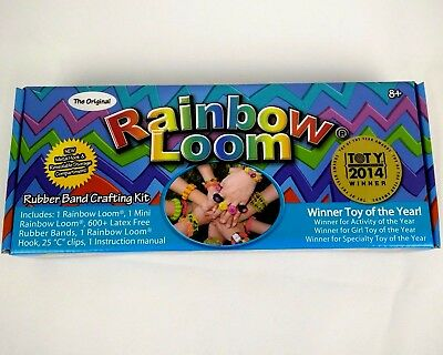 The Original Rainbow Loom Kit 600+ Bands 25 Clips  Bracelet Free Delivery