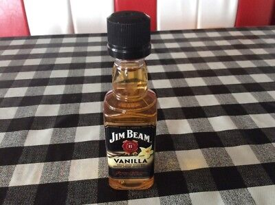 JIM BEAM VANILLA 50 ml USA VERSION
