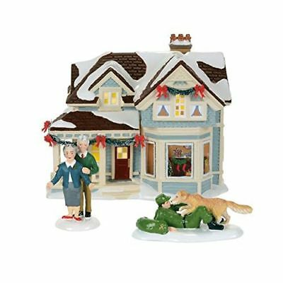 New Dept56 Original From Snow Village Home For Holidays Lithouse