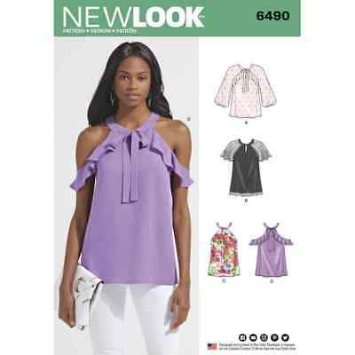 NEW LOOK SEWING Pattern 6472 New Look Pattern 6472 Misses Boho ...