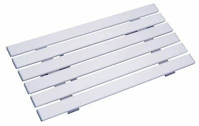 Aidapt Medina Reinforced Plastic Shower And Bath Board 140x710x350 mm White