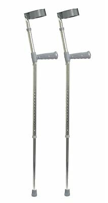 Aidapt Bariatric Double Adjustable Crutch (pair)
