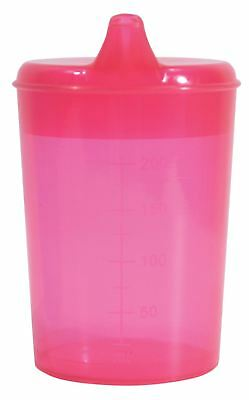 Aidapt Drinking Cup With Two Spouts Rose Red