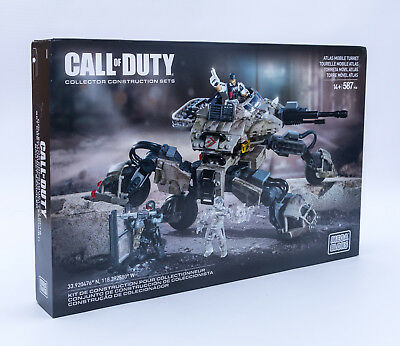 Mega Bloks CNG85 - Call of Duty - Atlas Mobile Turret 587 Teile NEU / OVP