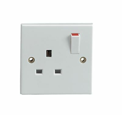 Eagle Single Gang Switched 13 A Socket