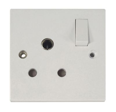Eagle Round Switched 15 A Socket