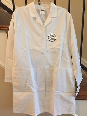 Women's 1st Quality White Meta Soft Brushed Lab Coat for 13.00 Size: 12