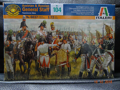 Austrian & Russian General Staff Italeri 1/72
