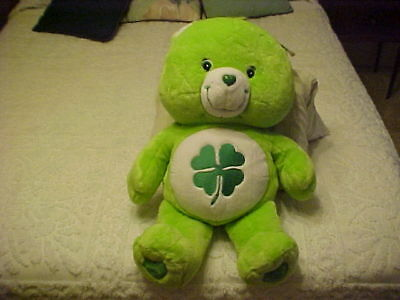 "Large 24"" Good Luck Care Bear New With Tags 2003 **********"