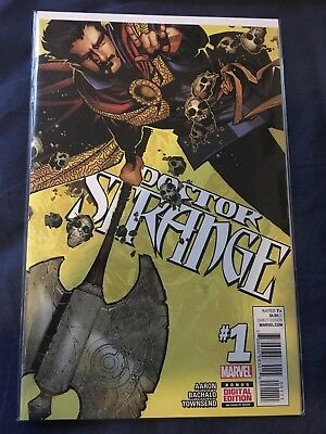 Doctor Strange 1 Marvel Comics 2015 Aaron Bachalo NM First Print Dr Stephen ANAD