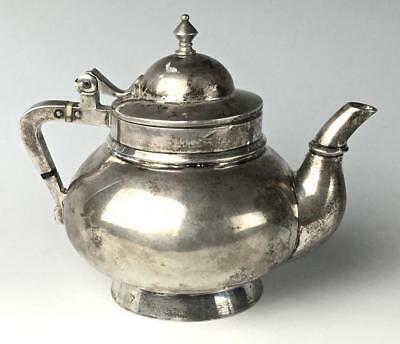 Russian Silver Teapot by Ovchinnirov, Moscow Lot 111A