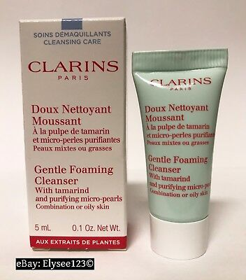 CLARINS Doux Nettoyant Moussant Gentle Foaming Cleanser - 5ml Probe - NEU & OVP