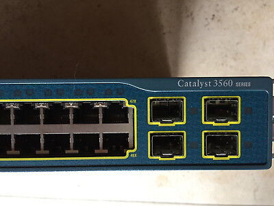 Cisco Catalyst WS-C3560-48TS-S Switch