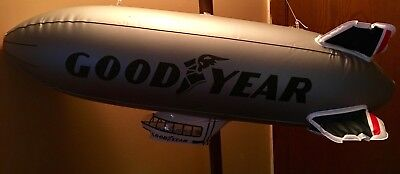 "2)NEW Goodyear Inflatable Blimp Silver 32"" string, 2 patches, instructions,NIP"