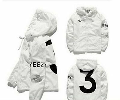 Limited Edition YEEZUS Windbreaker Yeezy sports sunscreen skin Windbreaker coat!
