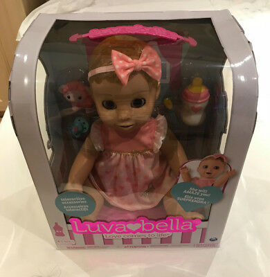 Luvabella Blonde Doll BRAND NEW boxed. Quick despatch.