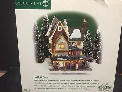 New Department 56 The China Trader #58447 Dickens Christmas Village Series