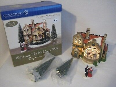 Department 56 Dickens Village Christmas at Ashby Manor #58732 With Original Box