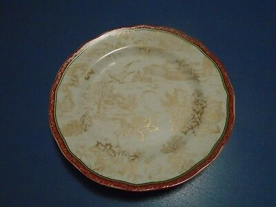 222 Fifth Christmas Toile Dinner Plates