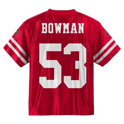 f857f9950fe (2017-2018) San Francisco 49ers NAVORRO BOWMAN nfl Jersey Youth L-Large