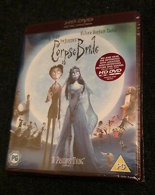 Corpse Bride (HD DVD, 2007)