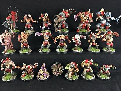 Blood Bowl Chaos Pact Team