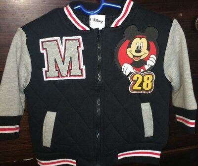 Disney Mickey Mouse Zip Up Sweater Boys 18 months
