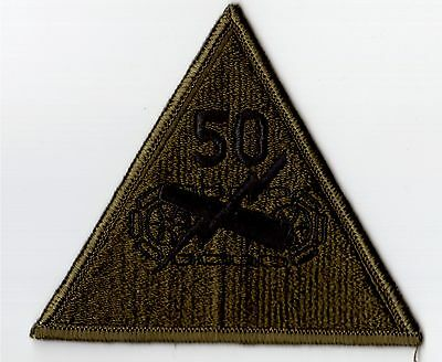 3 United States Airforce Army USAF 50st Amored Division ORGINAL Patch Luftwaffe
