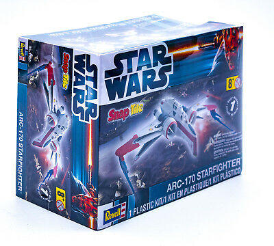 Revell 85-1855 - Star Wars ARC170 Starfighter Model Kit Level 1