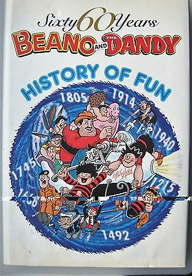 Sixty Years Beano & The Dandy 2001 Very Good Condition Unclipped