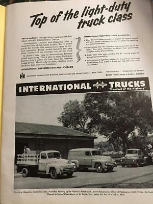 1952 International Harvester Company Trucks Advertisement Ad Vintage