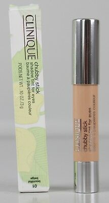 Clinique Chubby Stick Eye Shadow Tint For Eyes - 01 Bountiful Beige 3g V574